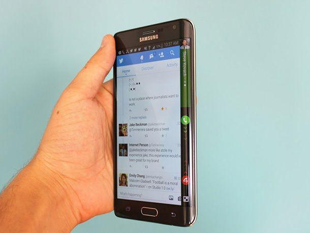 Samsung Galaxy Note Edge vs iPhone 6 Plus