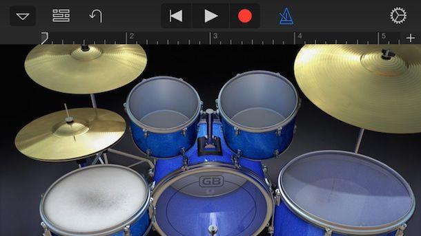 GarageBand red для iPhone и iPad