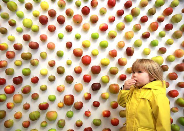 Настоящий Apple Store - магазин по продаже яблок