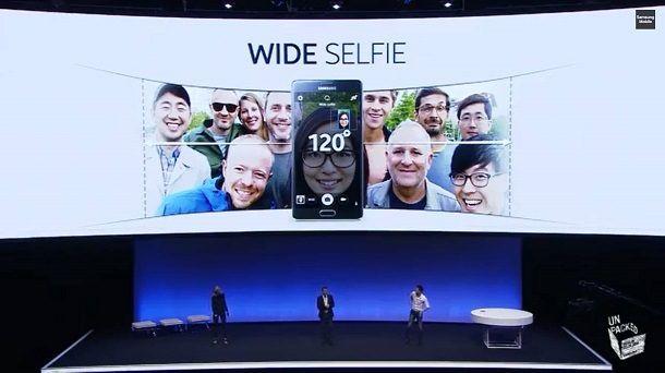 Samsung wide selfie