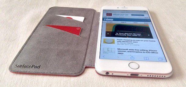 SurfacePad - чехол для iPhone 6 и iPhone 6 Plus