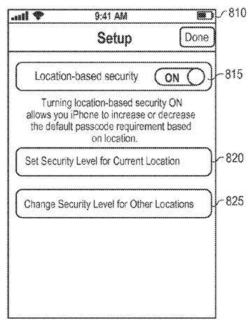 Настройки безопасности, связанные с геопозицией пользователя