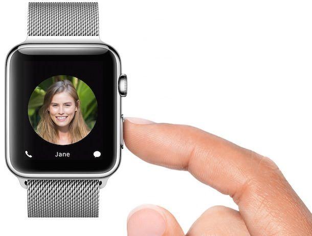 Звонок через Apple Watch