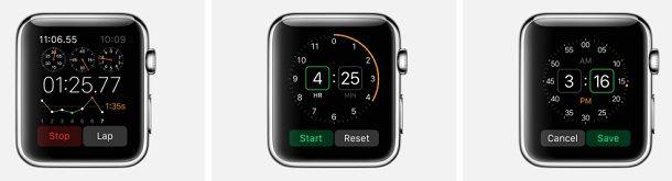 Будильник Apple Watch