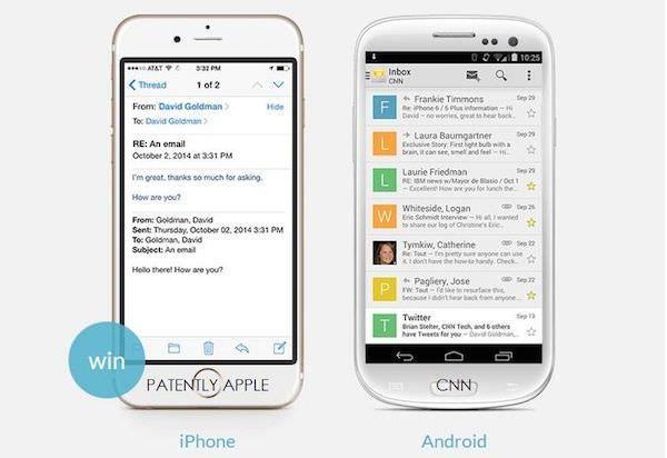 Электропочта на iOS и Android