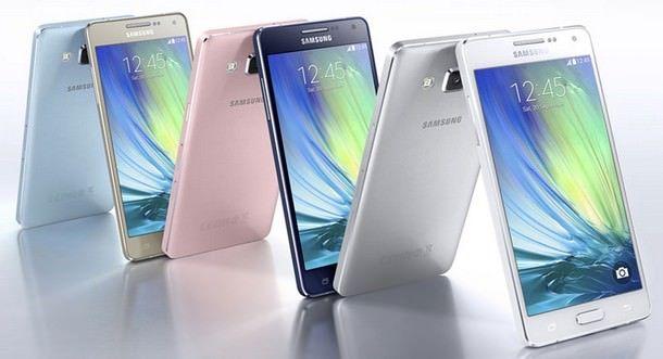 Galaxy A3 и A5