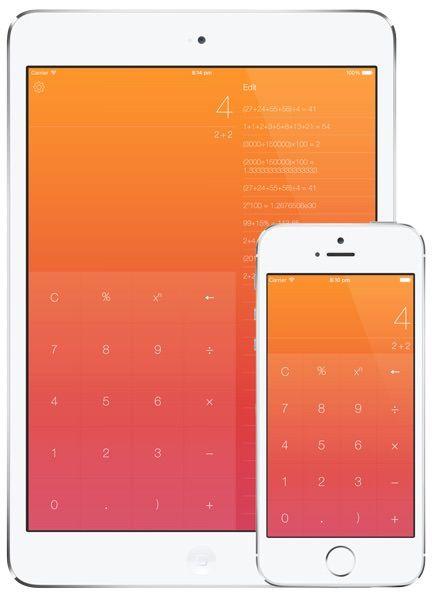Калькулятор Numerical для iPhone и iPad