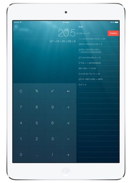 Калькулятор Numerical для iPhone и iPad-2