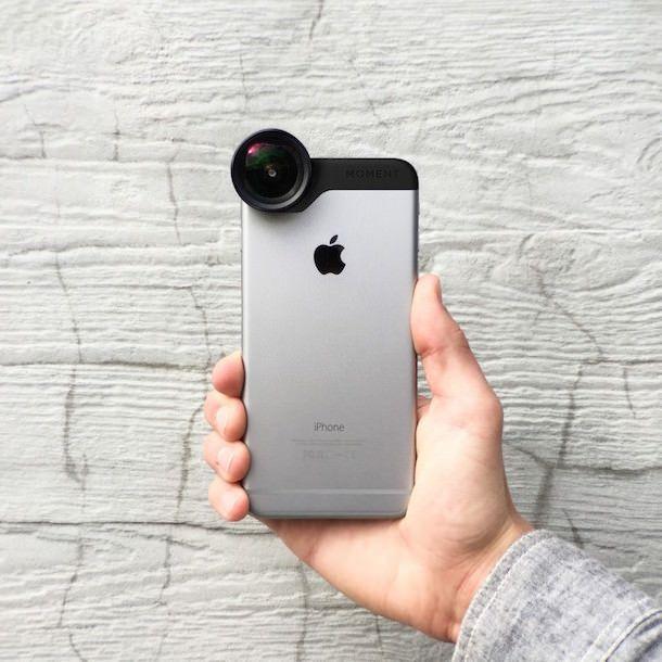 Moment накладные объективы для iPhone 6 и iPhone 6 Plus