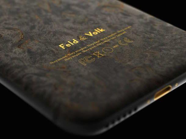 iPhone 6 из карельской березы