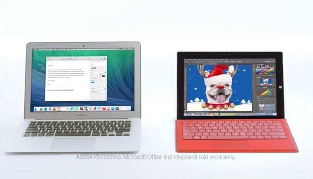 MacBook Air против Surface Pro 3