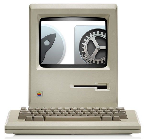OS X Yosemite в разрешении Retina на дисплее первого Mac