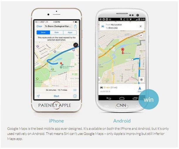 Карты в iOS и Android