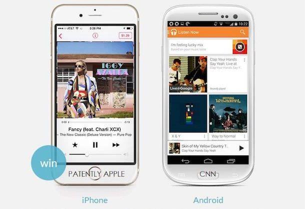 Музыки и подкасты на iOS и Android