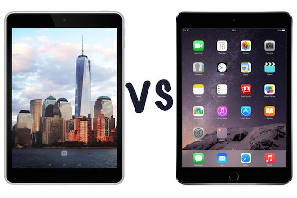 Nokia N1 vs. iPad mini 3