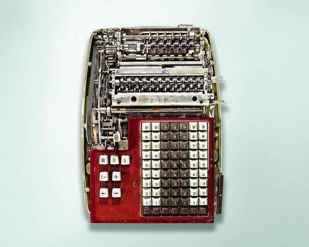 Содержимое механических калькуляторов в снимках Кевина Туми