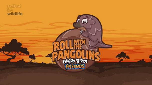 Roll with the Pangolins