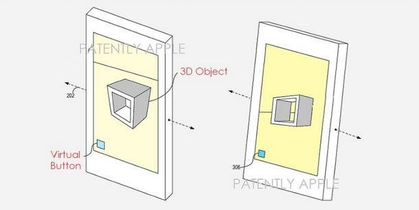 Патент Apple на 3D-дисплей