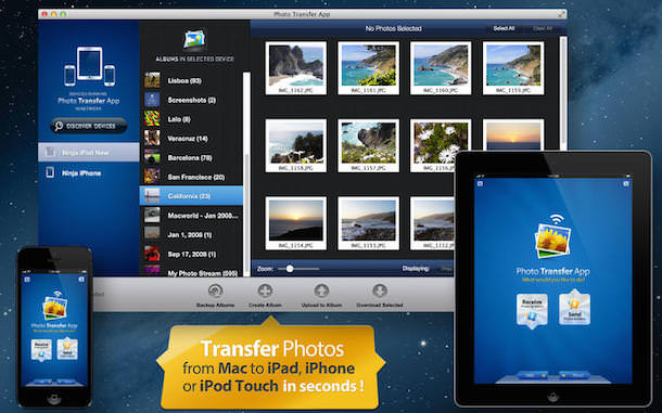 Программа Photo Transfer App