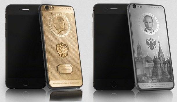 Caviar Supremo Putin II и Caviar Ti Supremo Putin iPhone 6 Plus