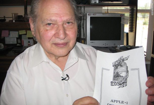 Рон Вайн - сооснователь Apple