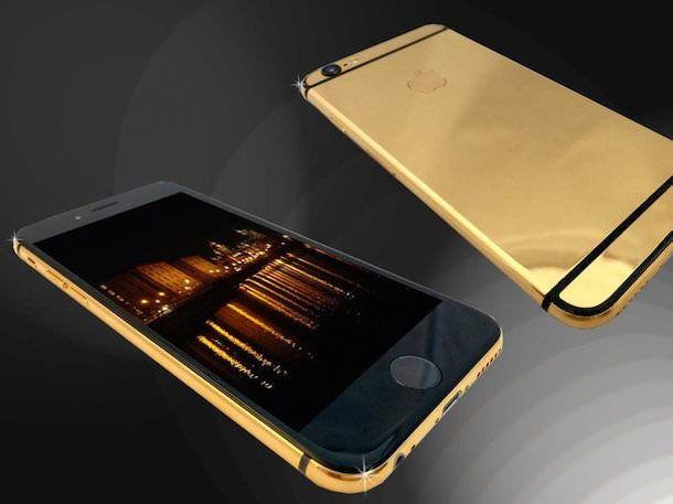 iPhone 6 их 24-каратного золота от Goldstriker