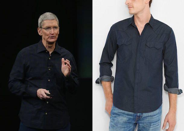 Тим Кук и его рубашка