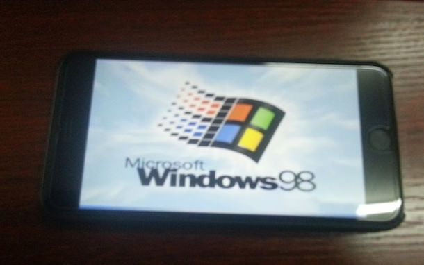 windows 98 iphone 6 plus 8