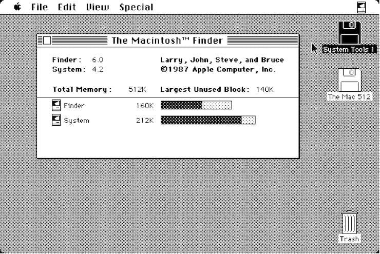 System 2.0 – 6.0 (1985-1988)