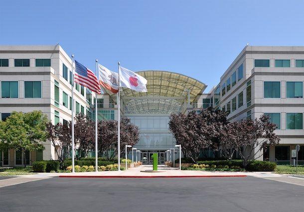 Штаб-квартира Apple в Купертино, Калифорния