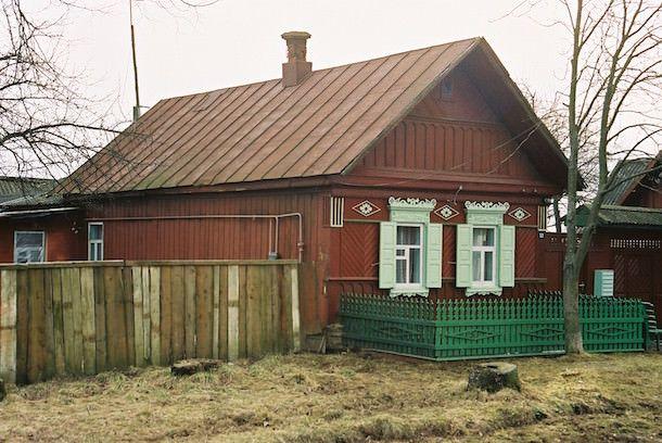 дом в деревне на iPhone