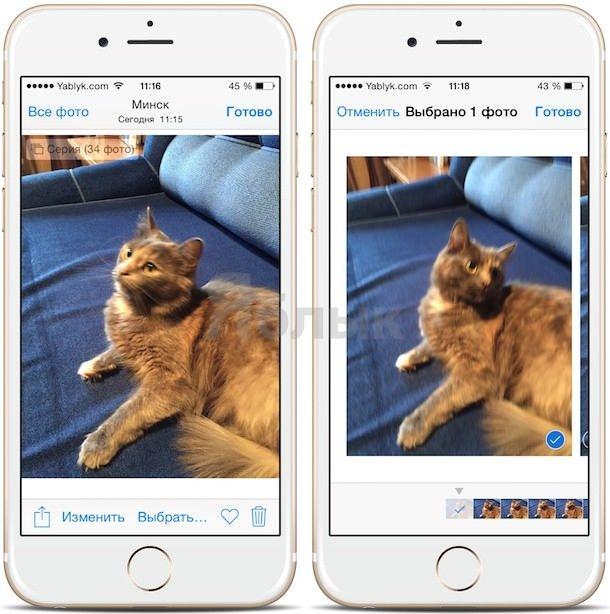 Твик BurstGIF - Gif-изображение из серии снимков на iPhone и iPad
