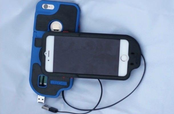 CordCase - чехол с встроенным кабелем подзарядки для iPhone