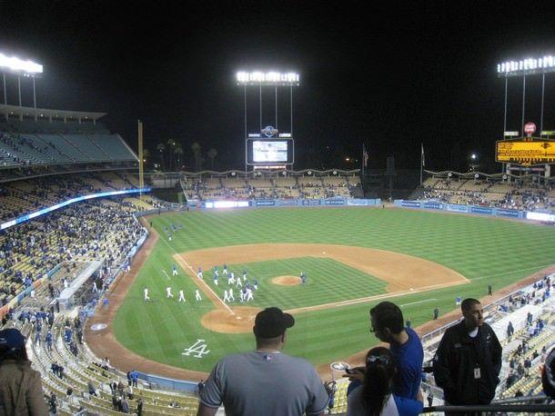 Стадион Доджер, Лос-Анджелес