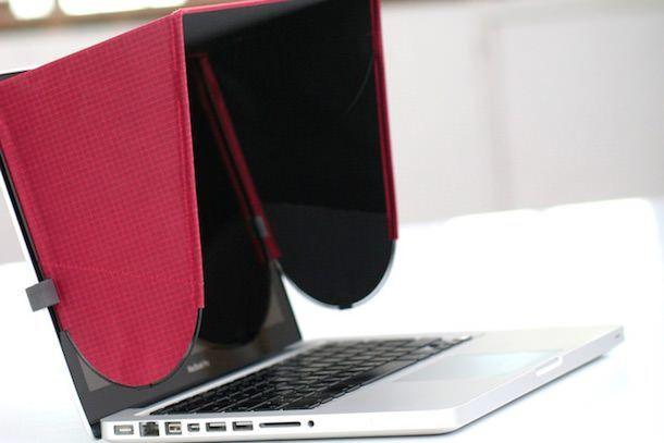 "Loplin Hood для MacBook - ""абажур"", защищающий от солнца и посторонних взглядов"