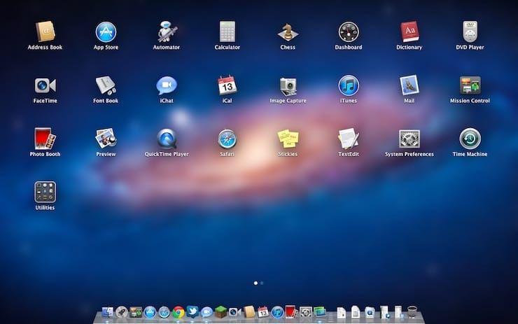 Mac OS X 10.7 Lion (2011)
