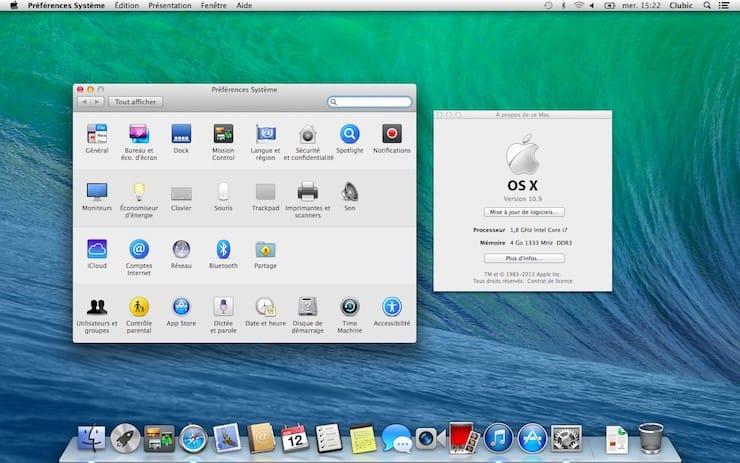 Mac OS X 10.9 Mavericks (2013)