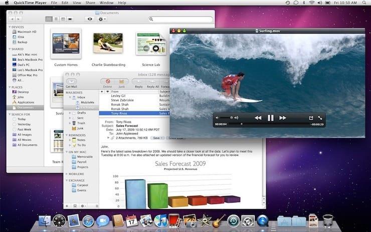 Mac OS X 10.5 Leopard (2007)