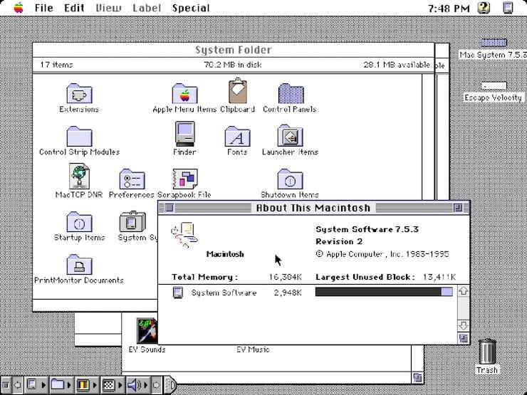 System 7.0 – 7.6