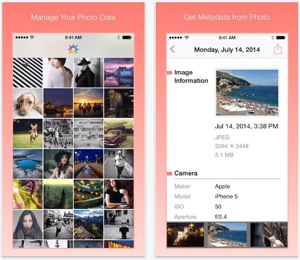 Metapho - расширение для Фото на iPhone и iPad