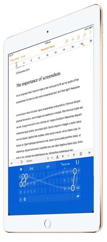 Клавиатура NinType для iPhone и iPad-2
