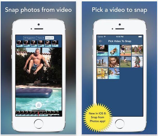 SnapStill - расширение для Фото на iPhone и iPad