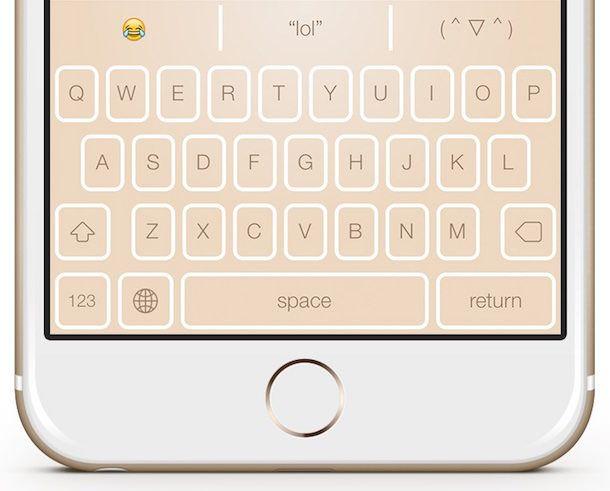 Сторонняя клавиатура Themeboard для iOS 8