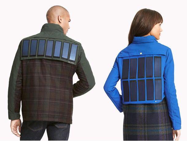 Tommy Hilfiger выпустил куртку с солнечными батареями с возможностью подзарядки iPhone