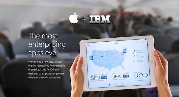 Приложения Apple и IBM для бизнеса