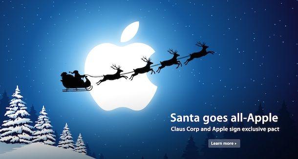 Apple и Санта-Клаус