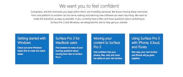 Microsoft переманивает пользователей MacBook Air на сторону Surface Pro 3