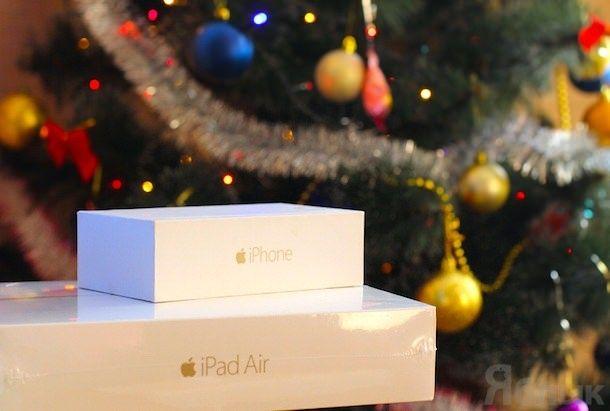 iphone 6 ipad air 2 новый год елка