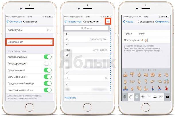 Эмодзи в iOS – искусство троллинга в письменной речи