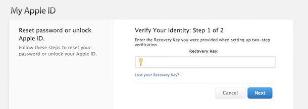 Не теряйте ключ восстановления от Apple ID-2